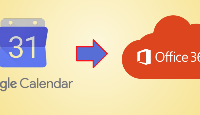 Import Google Calendar to Outlook 365