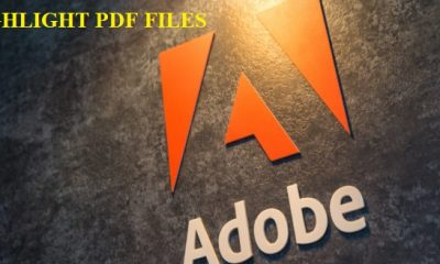 how to enable highlighting on pdf