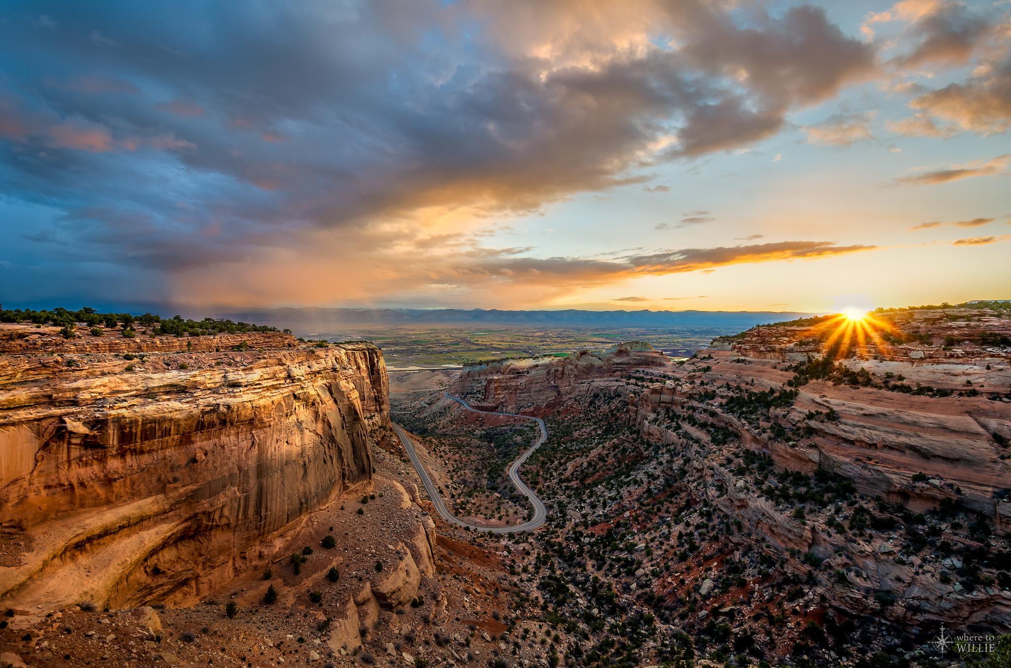 Grand Valley in Colorado