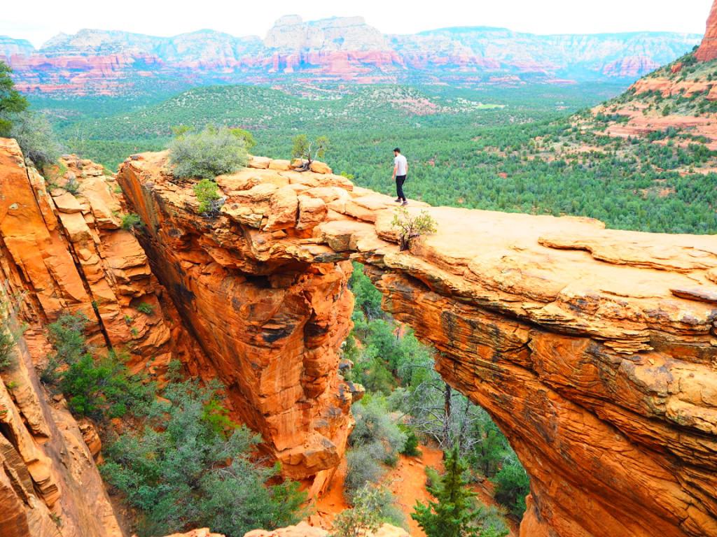 Sedona in Arizona