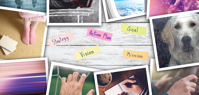 a-vision-board-of-pictures-dreams-and-goals