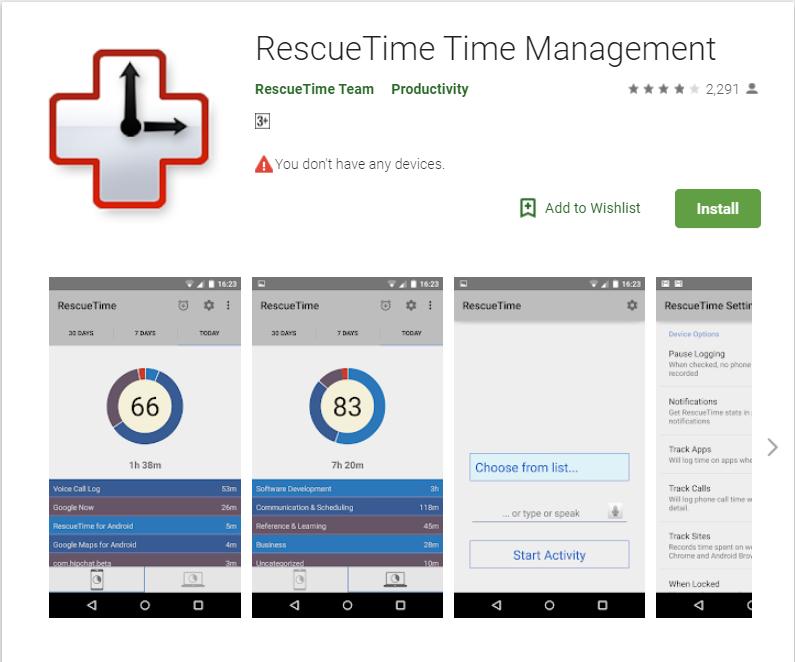 Rescue Time