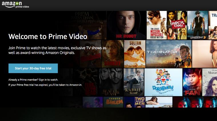 Using Amazon Prime
